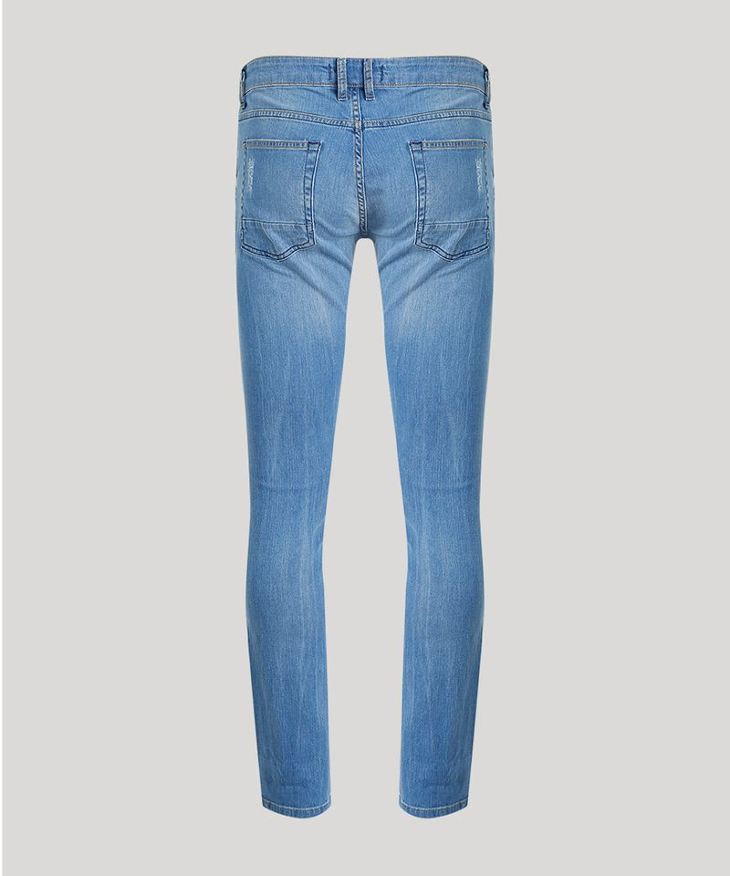 Calca-Jeans-Masculina-Slim-em-Algodao---Sustentavel-Azul-Medio-8655423-Azul_Medio_6