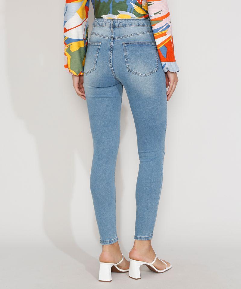 Calca-Jeans-Feminina-Super-Skinny-Cintura-Alta-Destroyed-Azul-Claro-9977338-Azul_Claro_2