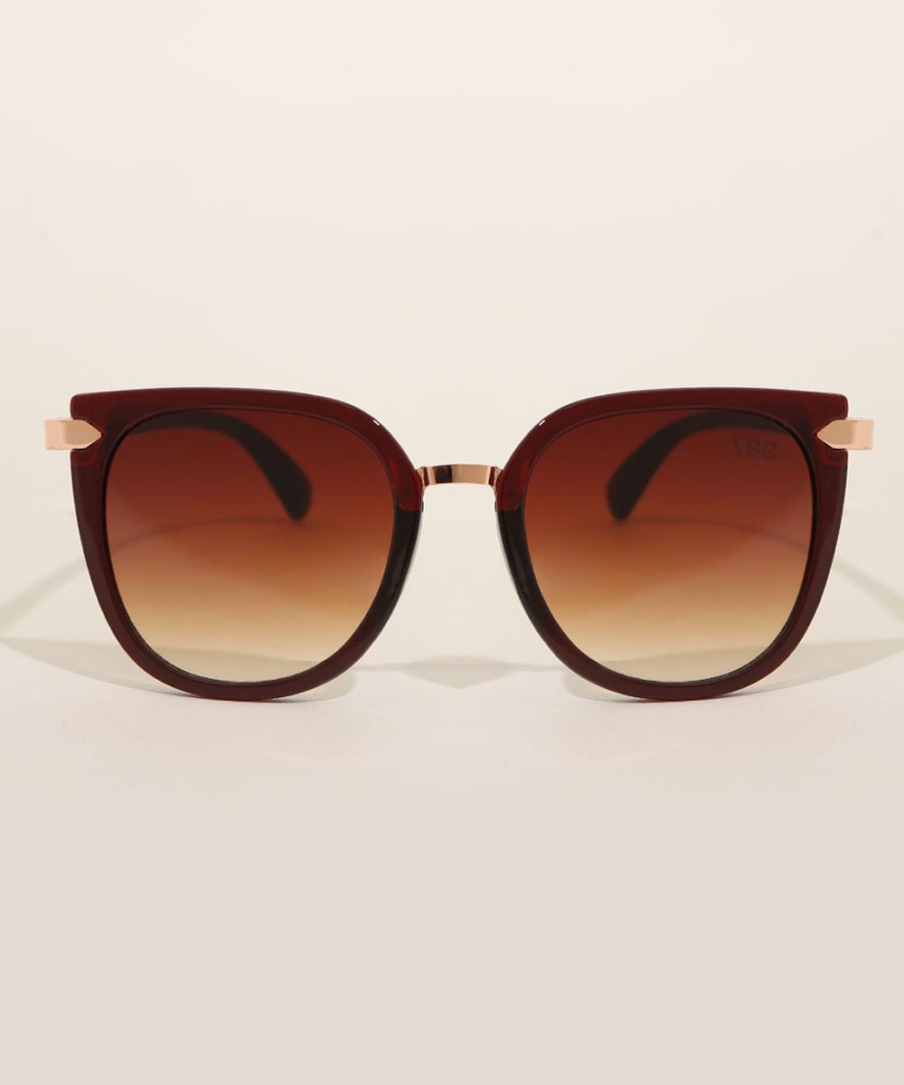 Óculos de sol redondo - Yessica
