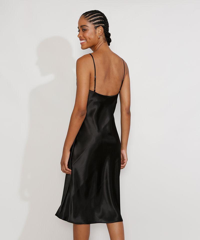Vestido-Slip-Dress-Feminino-Midi-Acetinado-com-Fenda-Alca-Fina-Preto-9984267-Preto_2