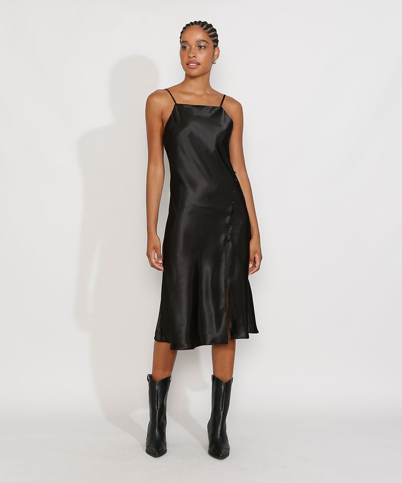 Vestido-Slip-Dress-Feminino-Midi-Acetinado-com-Fenda-Alca-Fina-Preto-9984267-Preto_3