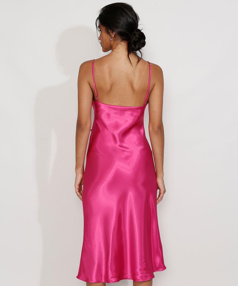 Vestido-Slip-Dress-Feminino-Midi-Acetinado-com-Fenda-Alca-Fina-Rosa-Escuro-9984267-Rosa_Escuro_2