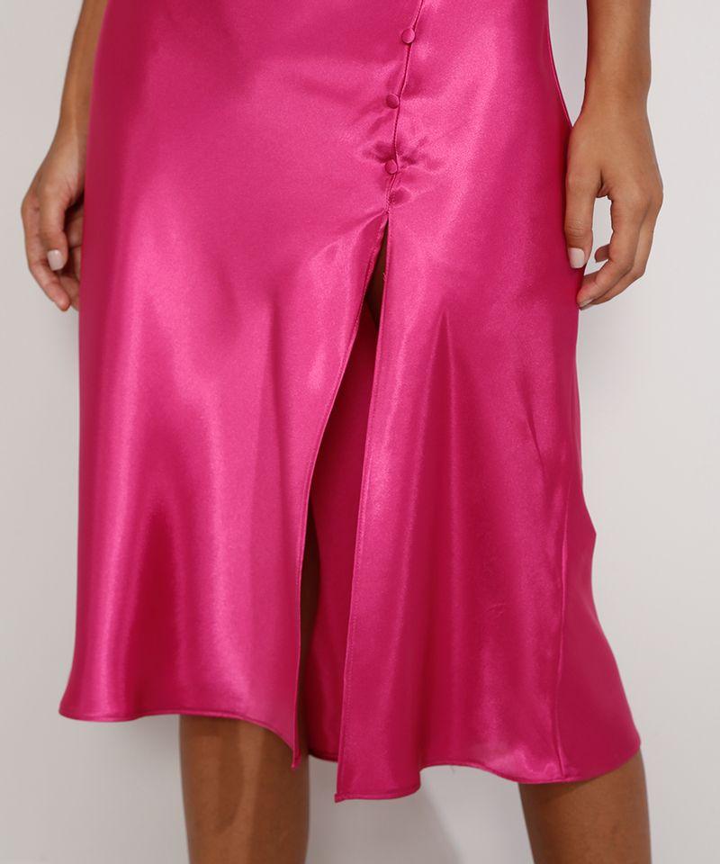 Vestido-Slip-Dress-Feminino-Midi-Acetinado-com-Fenda-Alca-Fina-Rosa-Escuro-9984267-Rosa_Escuro_5