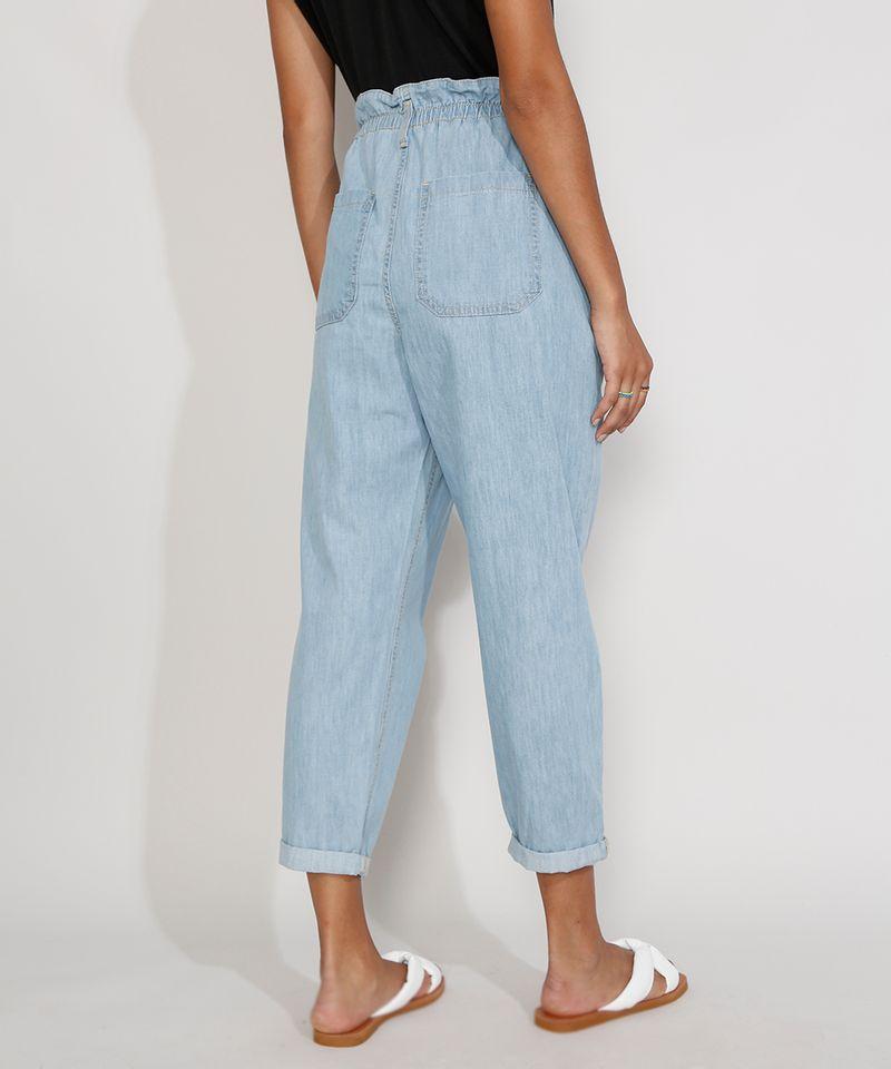 Calca-Jeans-Feminina-Cintura-Alta-Clochard-Azul-Medio-9982172-Azul_Medio_2