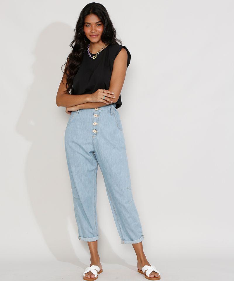 Calca-Jeans-Feminina-Cintura-Alta-Clochard-Azul-Medio-9982172-Azul_Medio_3