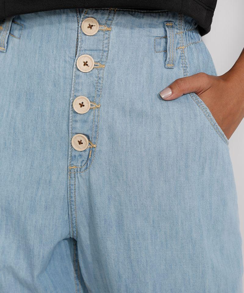 Calca-Jeans-Feminina-Cintura-Alta-Clochard-Azul-Medio-9982172-Azul_Medio_4