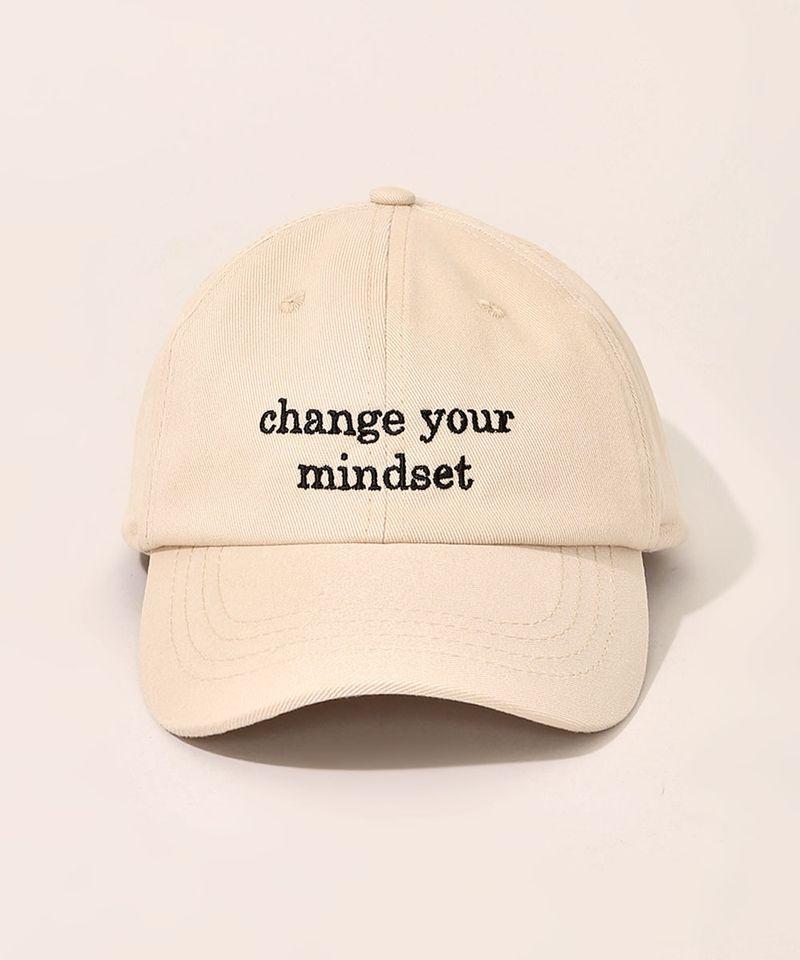 Bone-Feminino-Mindset-Aba-Curva-com-Bordado--Change-Your-Mindset--Bege-9983095-Bege_1