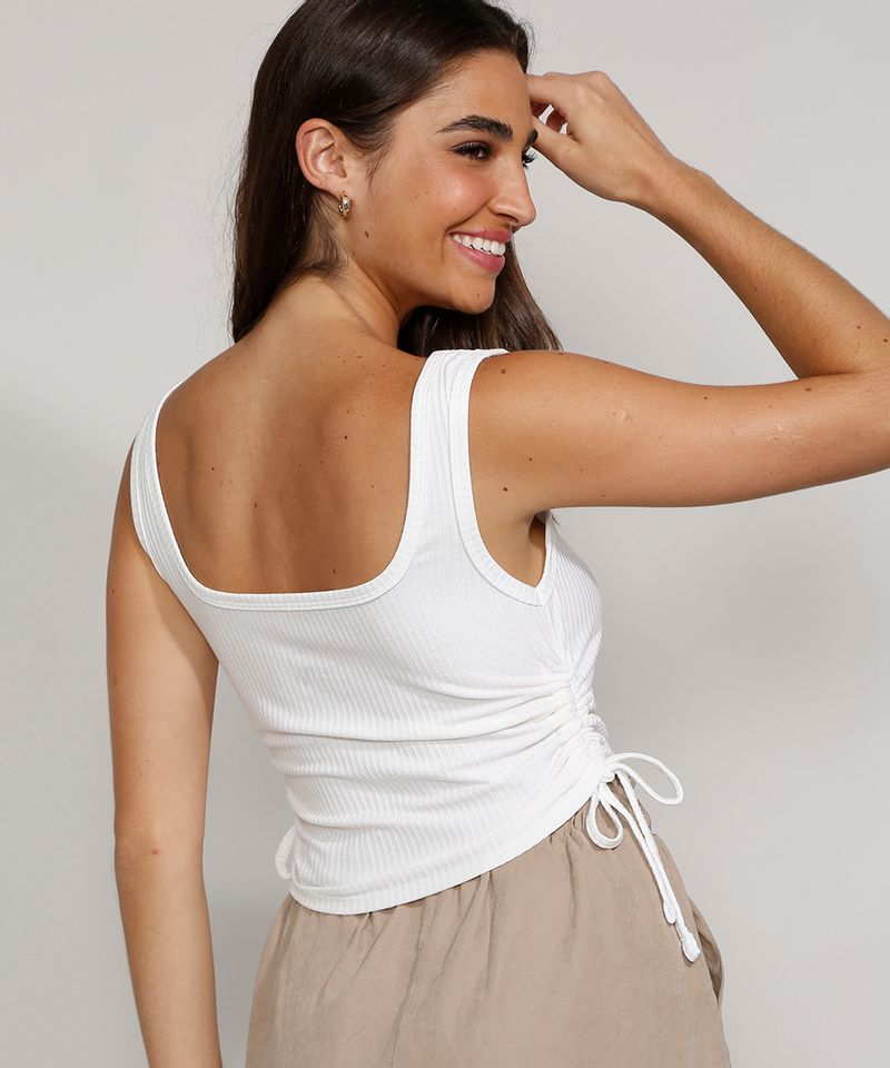 Regata-Feminina-Cropped-Canelada-com-Franzido-Alca-Larga-Decote-Reto-Off-White-9972552-Off_White_2