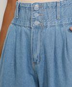 Calca-Jeans-Feminina-Sawary-Cintura-Super-Alta-com-Franzidos-Azul-Claro-9983852-Azul_Claro_4