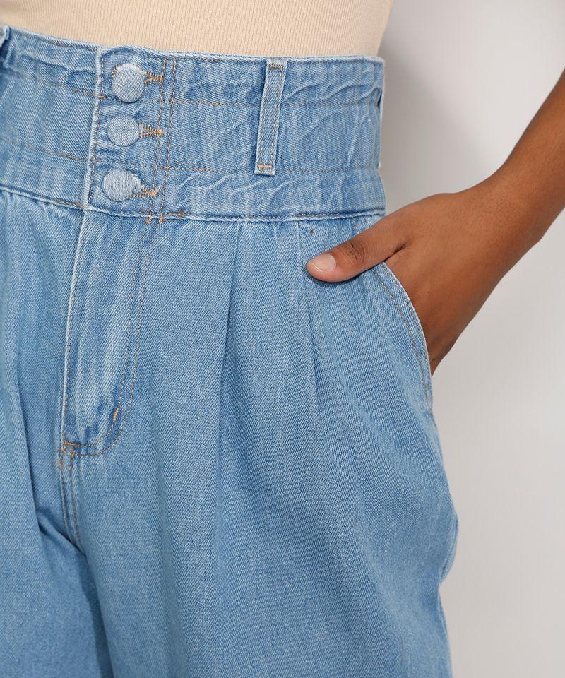 Calca-Jeans-Feminina-Sawary-Cintura-Super-Alta-com-Franzidos-Azul-Claro-9983852-Azul_Claro_6