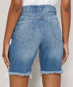 Bermuda-Jeans-Feminina-Cintura-Alta-Destroyed-Azul-Medio-9985655-Azul_Medio_2