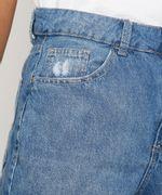 Bermuda-Jeans-Feminina-Cintura-Alta-Destroyed-Azul-Medio-9985655-Azul_Medio_5