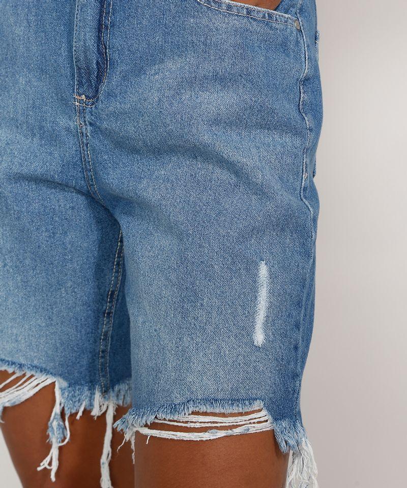 Bermuda-Jeans-Feminina-Cintura-Alta-Destroyed-Azul-Medio-9985655-Azul_Medio_6