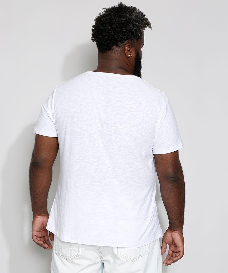 Camiseta-Masculina-Plus-Size-Basica-Manga-Curta-Gola-V-Branca-9980046-Branco_2