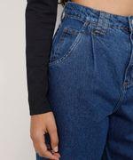Calca-Jeans-Feminina-Baggy-Cintura-Super-Alta-com-Pregas-Azul-Medio-9978128-Azul_Medio_6
