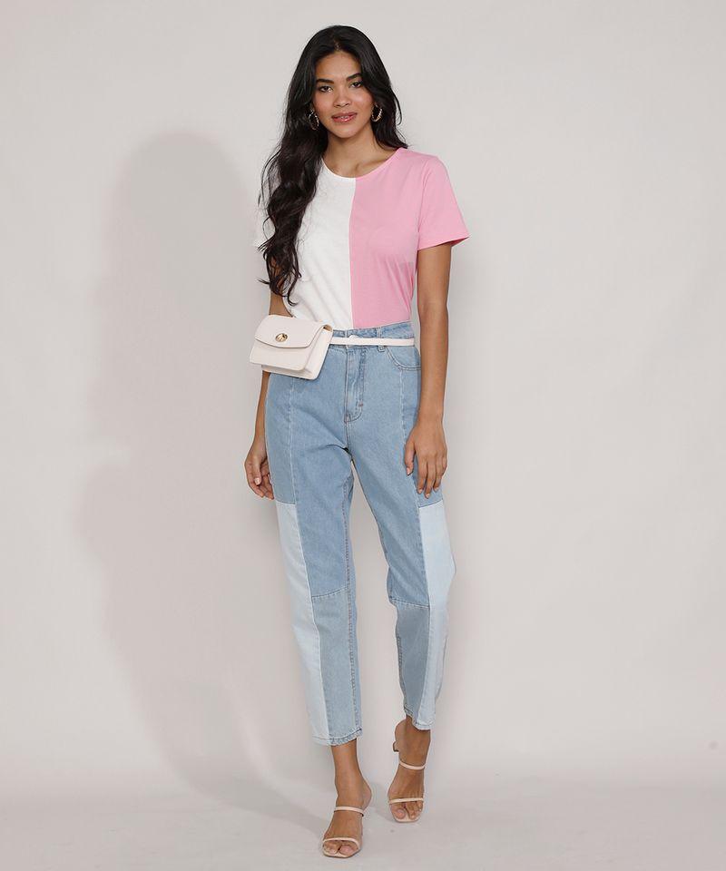 Calca-Jeans-Feminina-Mom-Cintura-Super-Alta-com-Recortes-Azul-Claro-9985618-Azul_Claro_3