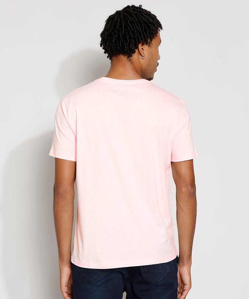 Camiseta-Masculina-Manga-Curta-Basica-Gola-Careca-Rosa-Claro-8472740-Rosa_Claro_2