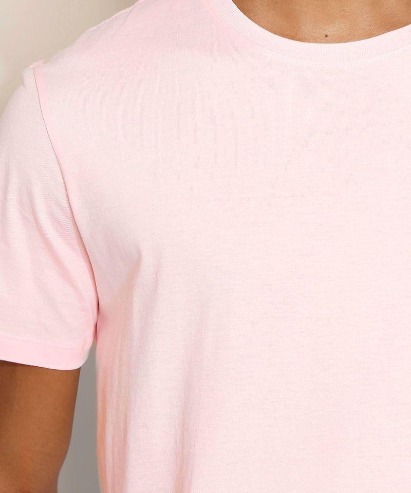 Camiseta-Masculina-Manga-Curta-Basica-Gola-Careca-Rosa-Claro-8472740-Rosa_Claro_4