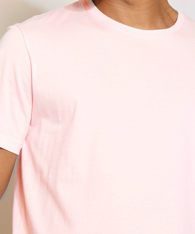 Camiseta-Masculina-Manga-Curta-Basica-Gola-Careca-Rosa-Claro-8472740-Rosa_Claro_5