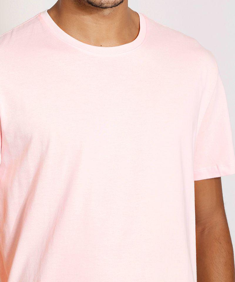 Camiseta-Masculina-Manga-Curta-Basica-Gola-Careca-Rosa-Claro-8472740-Rosa_Claro_6