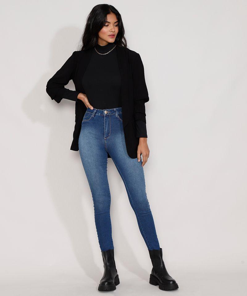 Calca-Jeans-Feminina-Cintura-Alta-Sawary-Cigarrete-Push-Up-com-Barra-Degrau-Azul-Escuro-9984358-Azul_Escuro_3