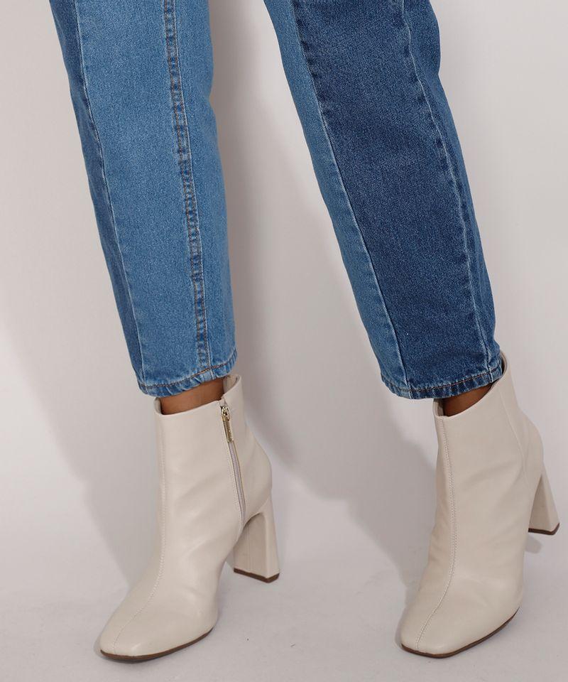 Calca-Jeans-Feminina-Mom-Cintura-Super-Alta-com-Recortes-Azul-Medio-9985623-Azul_Medio_5