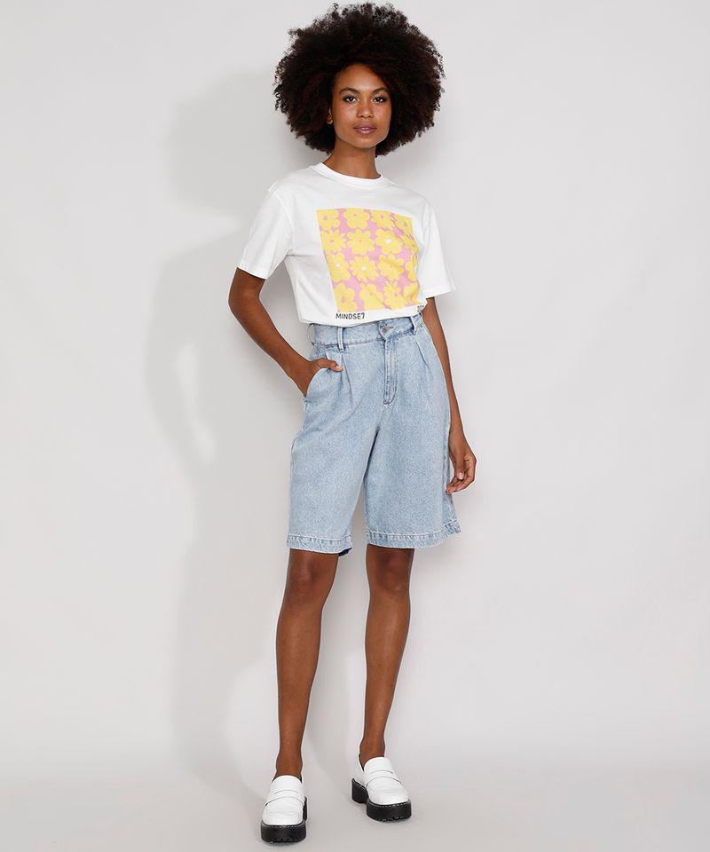 Bermuda-Jeans-Feminina-Mindset-Cintura-Alta-com-Pregas-Azul-Claro-9991000-Azul_Claro_3