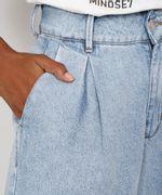 Bermuda-Jeans-Feminina-Mindset-Cintura-Alta-com-Pregas-Azul-Claro-9991000-Azul_Claro_4