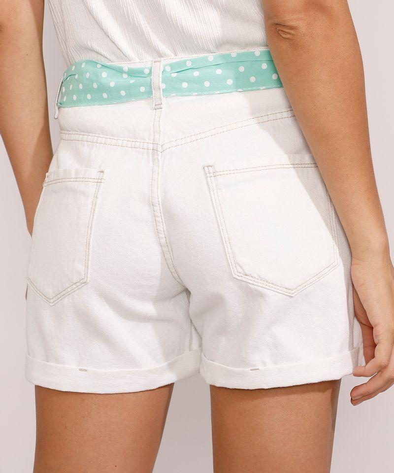 Short-Jeans-Feminino-Midi-Cintura-Media-com-Faixa-para-Amarrar-Estampada-Azul-Claro-9982919-Azul_Claro_2