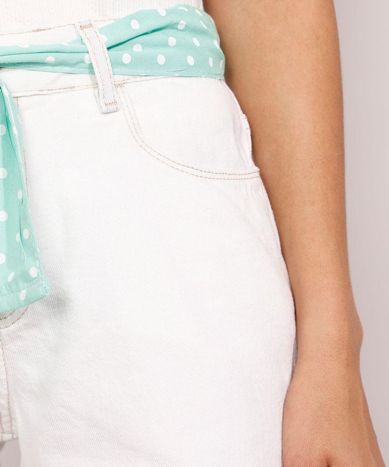 Short-Jeans-Feminino-Midi-Cintura-Media-com-Faixa-para-Amarrar-Estampada-Azul-Claro-9982919-Azul_Claro_6