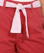 Short-de-Sarja-Midi-Cintura-Media-com-Faixa-para-Amarrar-Estampada-Rosa-9982920-Rosa_5