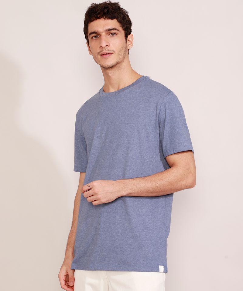 Camiseta-Masculina-Basica-Manga-Curta-Gola-Careca-Azul-9964945-Azul_1