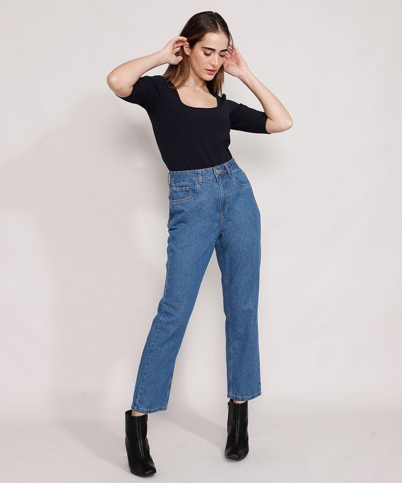 Calca-Jeans-Feminina-Mindset-Reta-Paris-Cintura-Alta-Azul-Medio-9987763-Azul_Medio_3
