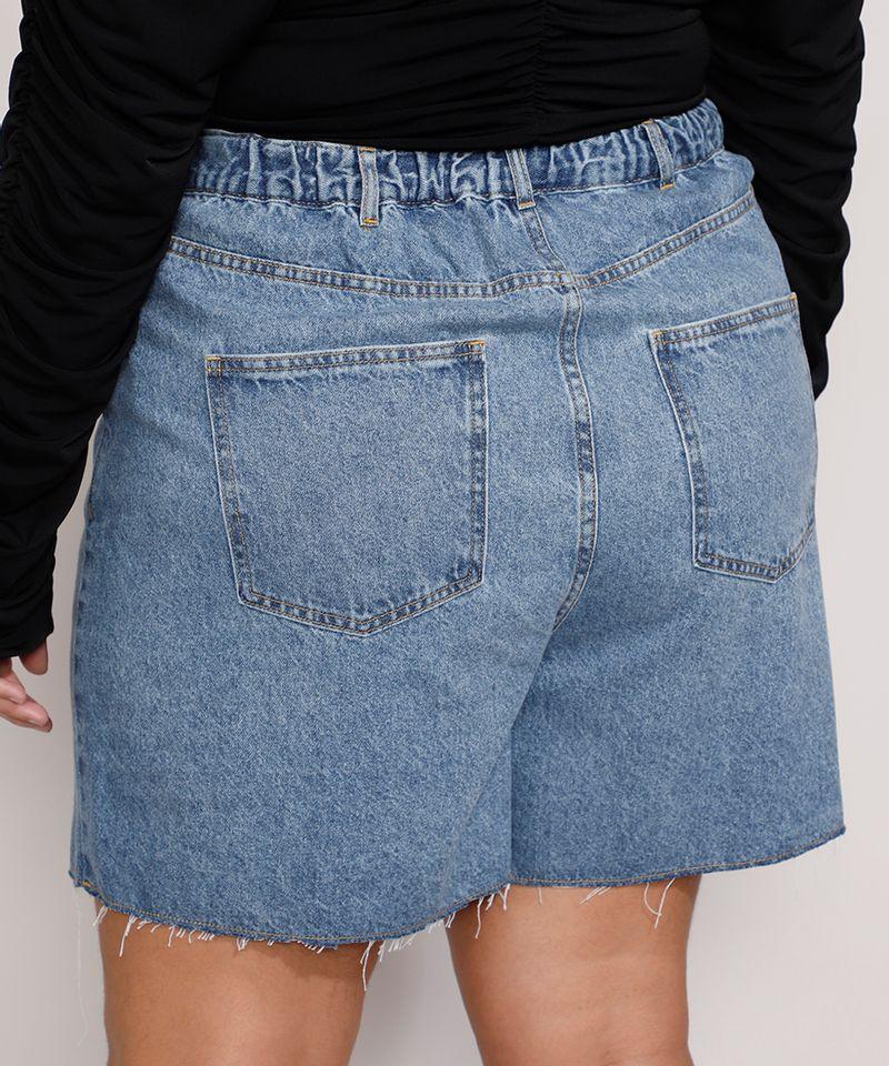 Short-Jeans-Feminino-Plus-Size-Mindset-Los-Angeles-Cintura-Alta-Azul-Medio-Marmorizado-9987769-Azul_Medio_Marmorizado_2