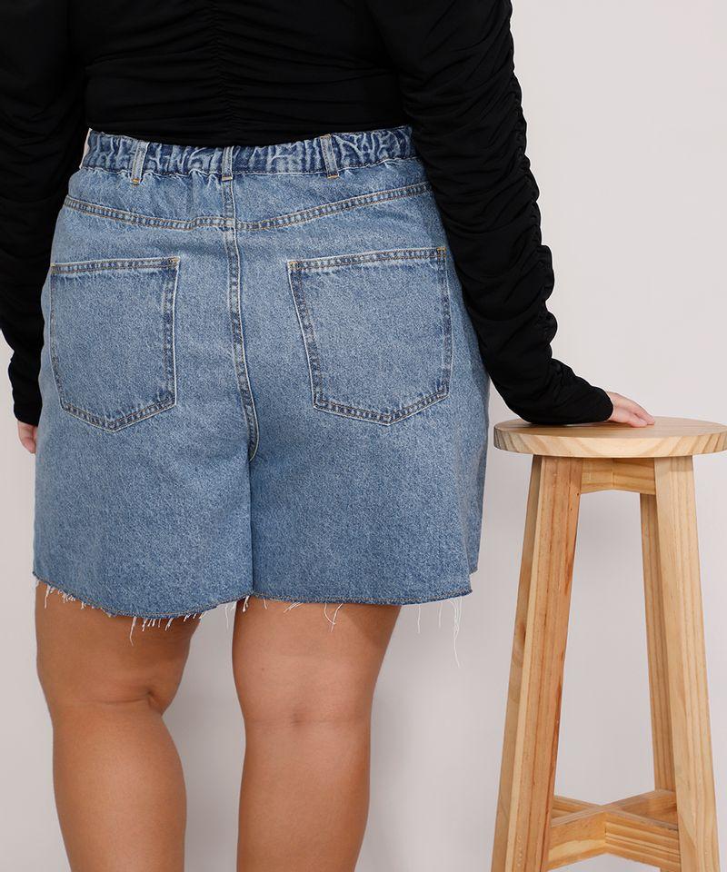 Short-Jeans-Feminino-Plus-Size-Mindset-Los-Angeles-Cintura-Alta-Azul-Medio-Marmorizado-9987769-Azul_Medio_Marmorizado_5