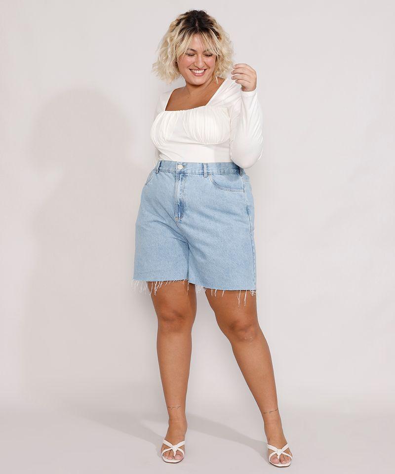 Short-Jeans-Feminino-Plus-Size-Mindset-Los-Angeles-Cintura-Alta-Azul-Claro-Marmorizado-9987769-Azul_Claro_Marmorizado_3
