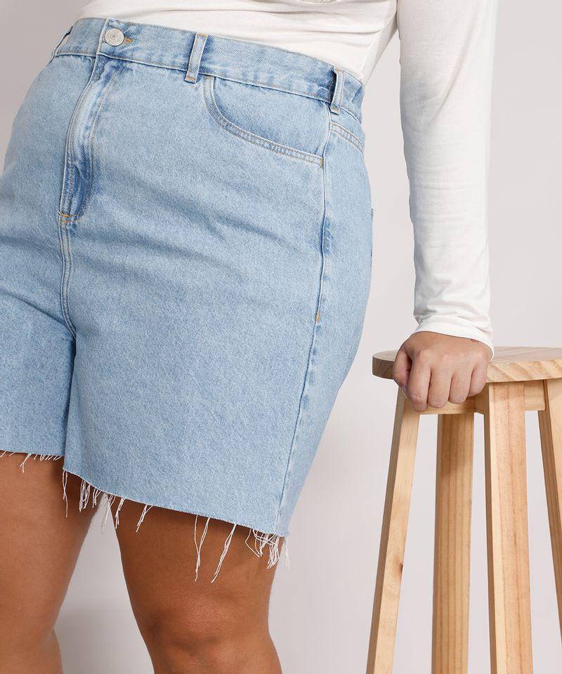 Short-Jeans-Feminino-Plus-Size-Mindset-Los-Angeles-Cintura-Alta-Azul-Claro-Marmorizado-9987769-Azul_Claro_Marmorizado_4