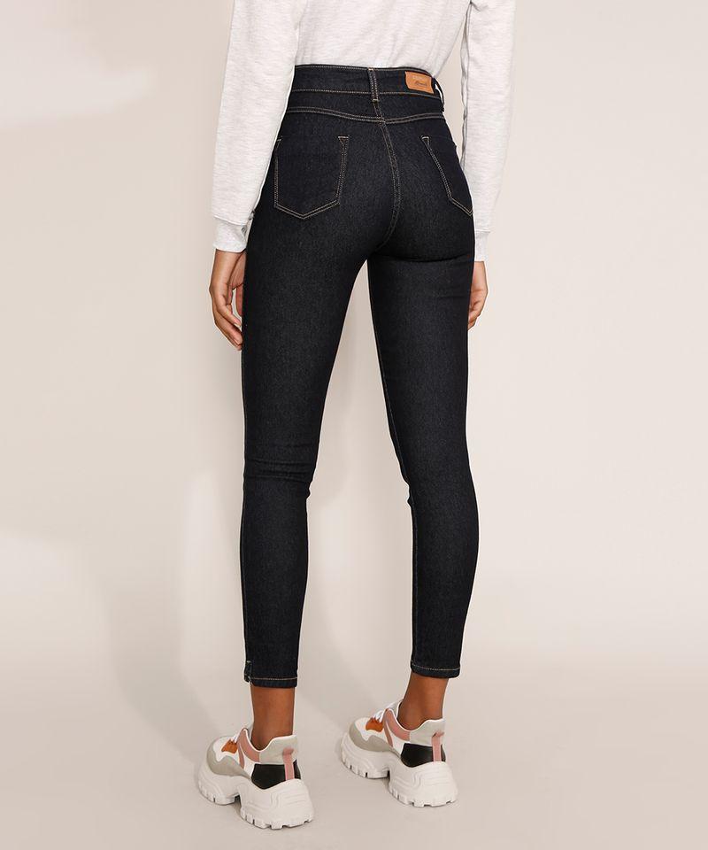 Calca-Jeans-Feminina-Cintura-Alta-Sawary-Cigarrete-360-Azul-Escuro-9983862-Azul_Escuro_2