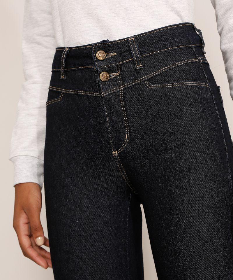 Calca-Jeans-Feminina-Cintura-Alta-Sawary-Cigarrete-360-Azul-Escuro-9983862-Azul_Escuro_4