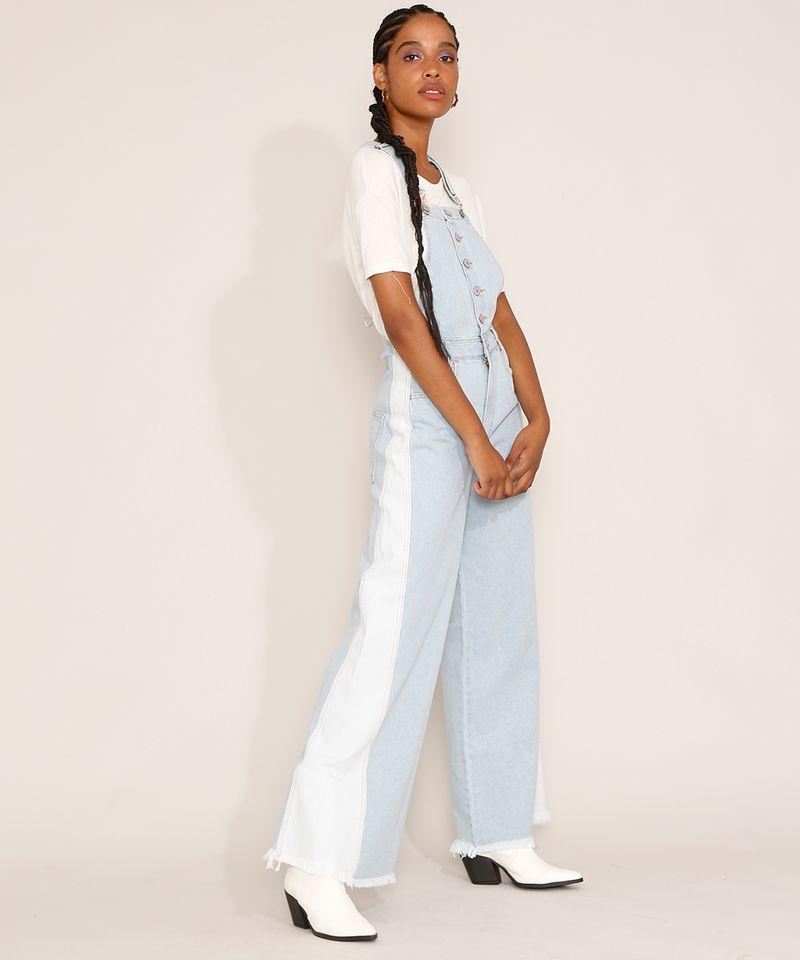 Macacao-Jeans-Feminino-Wide-Bicolor-com-Botoes-e-Barra-Desfiada-Azul-Claro-9985793-Azul_Claro_3