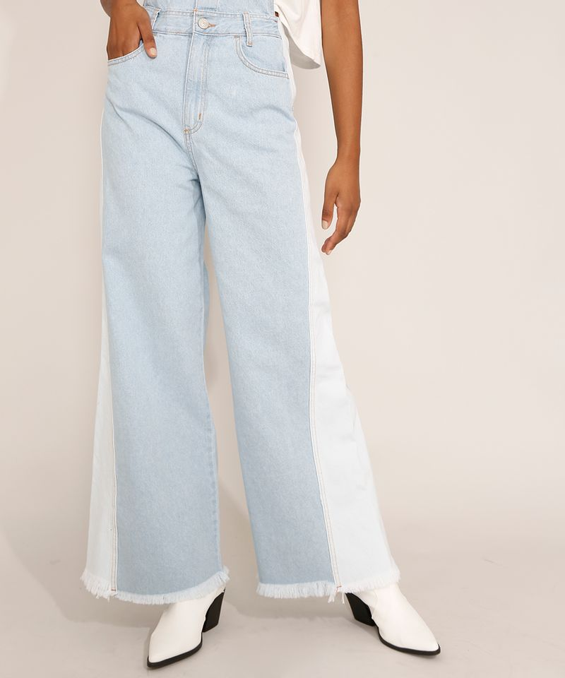 Macacao-Jeans-Feminino-Wide-Bicolor-com-Botoes-e-Barra-Desfiada-Azul-Claro-9985793-Azul_Claro_5