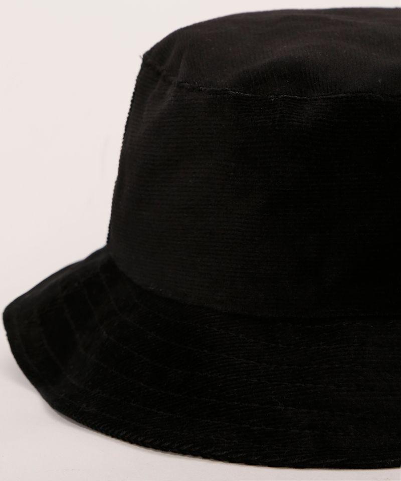 Bucket-Hat-Feminino-de-Veludo-Cotele-Preto-9982830-Preto_3