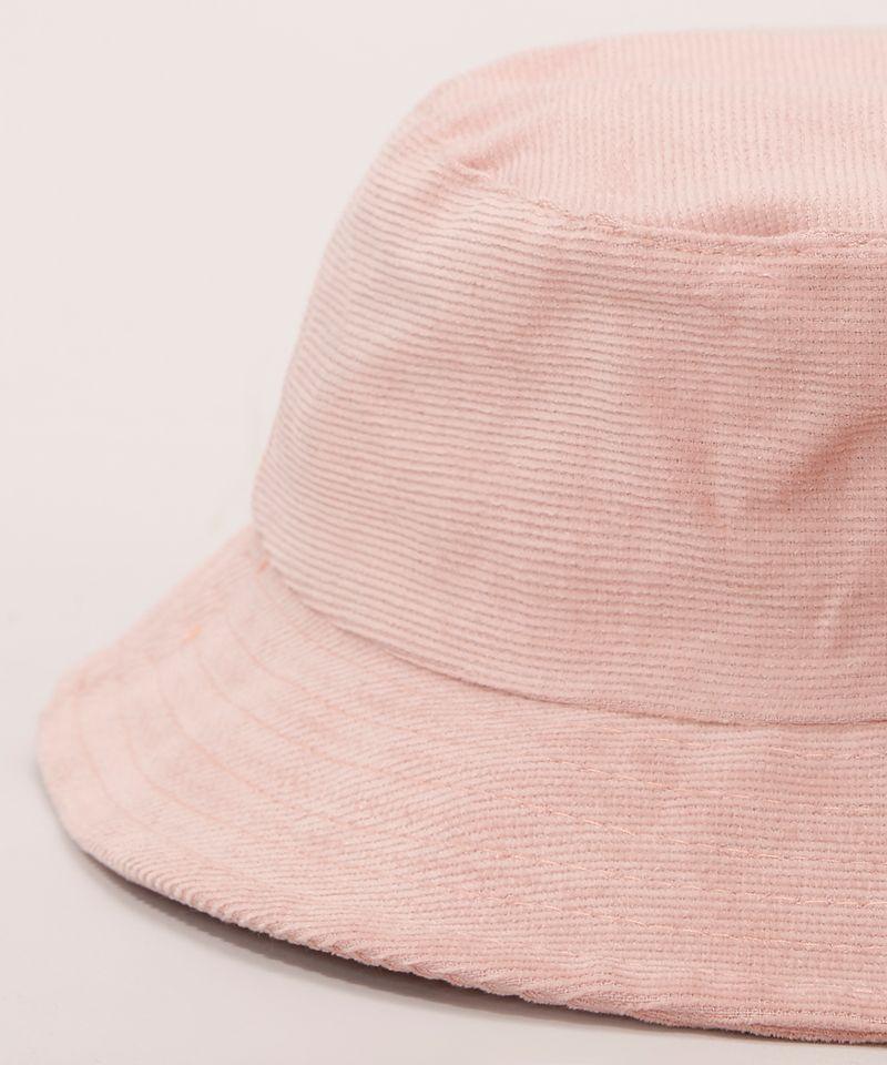 Bucket-Hat-Feminino-de-Veludo-Cotele-Rosa-9982831-Rosa_3
