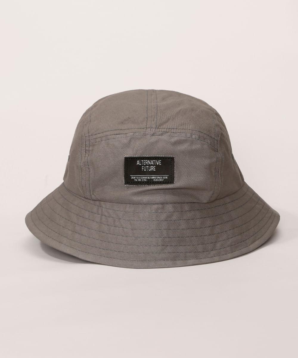 <em>Bucket hat</em> masculino ajustável cinza, da C&A