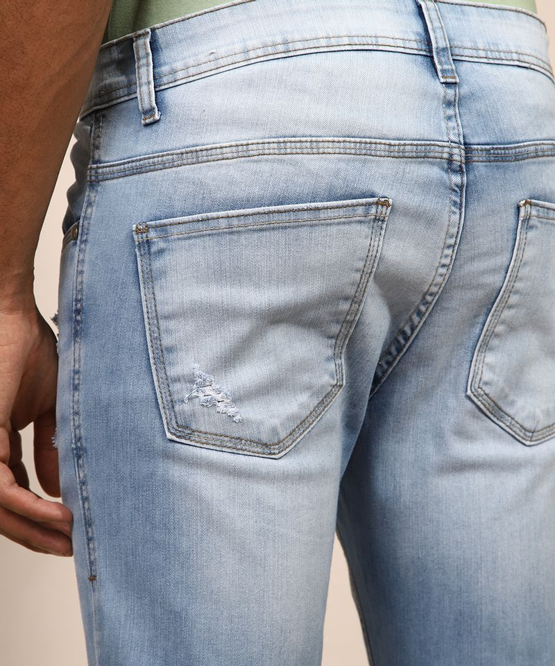 Calca-Jeans-Masculina-Skinny-Cropped-Destroyed-Azul-Claro-9982497-Azul_Claro_4