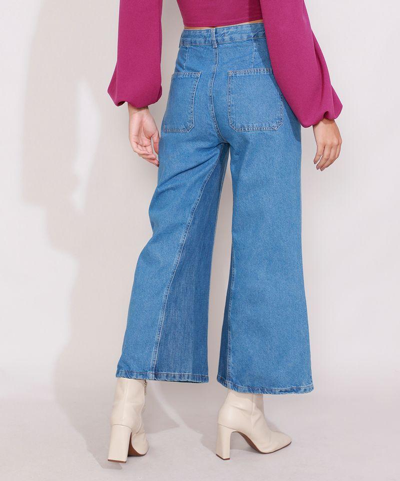 Calca-Jeans-Feminina-Pantacourt-Wide-Cintura-Super-Alta-com-Recorte-Azul-Medio-9989097-Azul_Medio_2