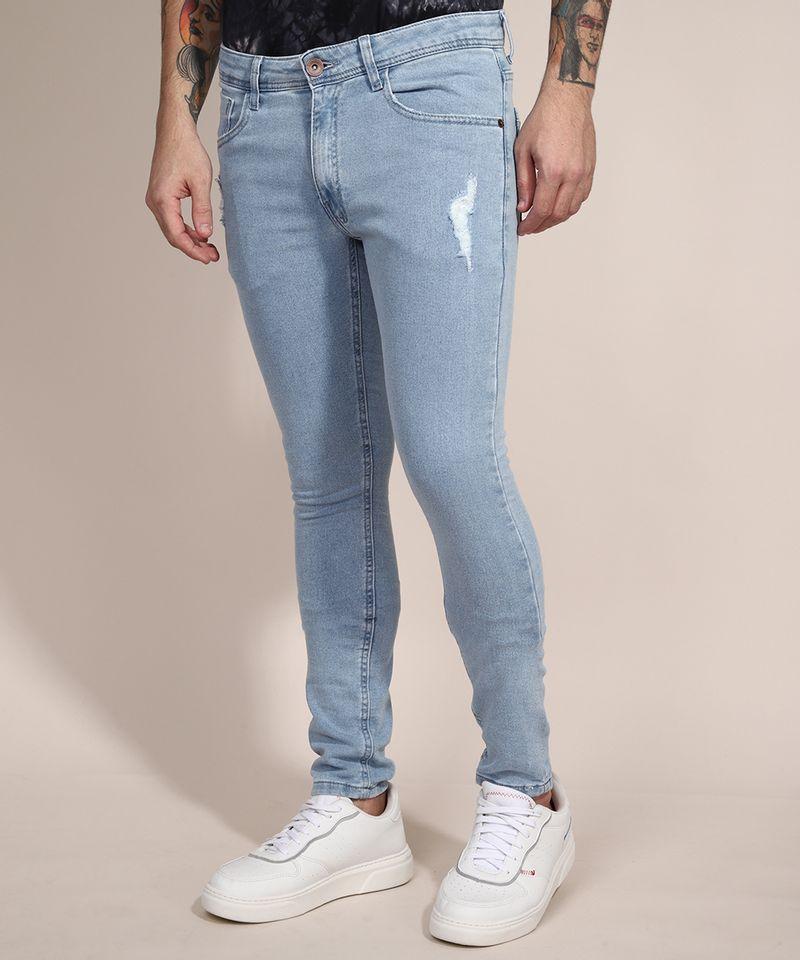 Calca-Skinny-Jeans-Moletom-com-Puidos--Azul-Claro-9982580-Azul_Claro_1