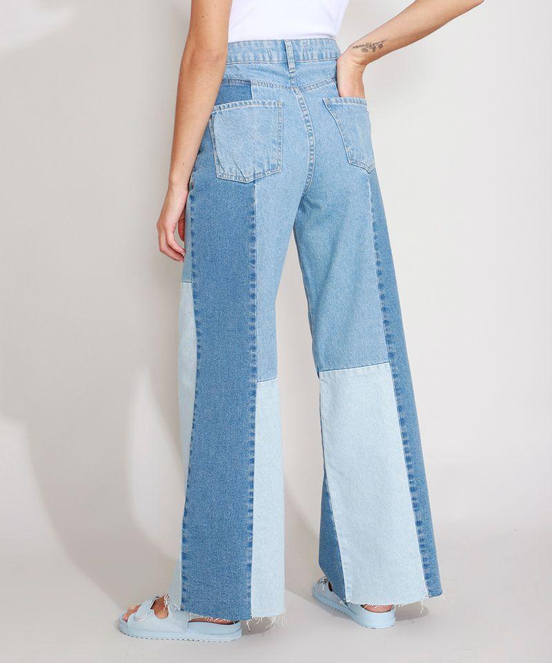 Calca-Wide-Pantalona-Jeans-com-Recortes-Cintura-Super-Alta-Azul-Medio-9988927-Azul_Medio_2