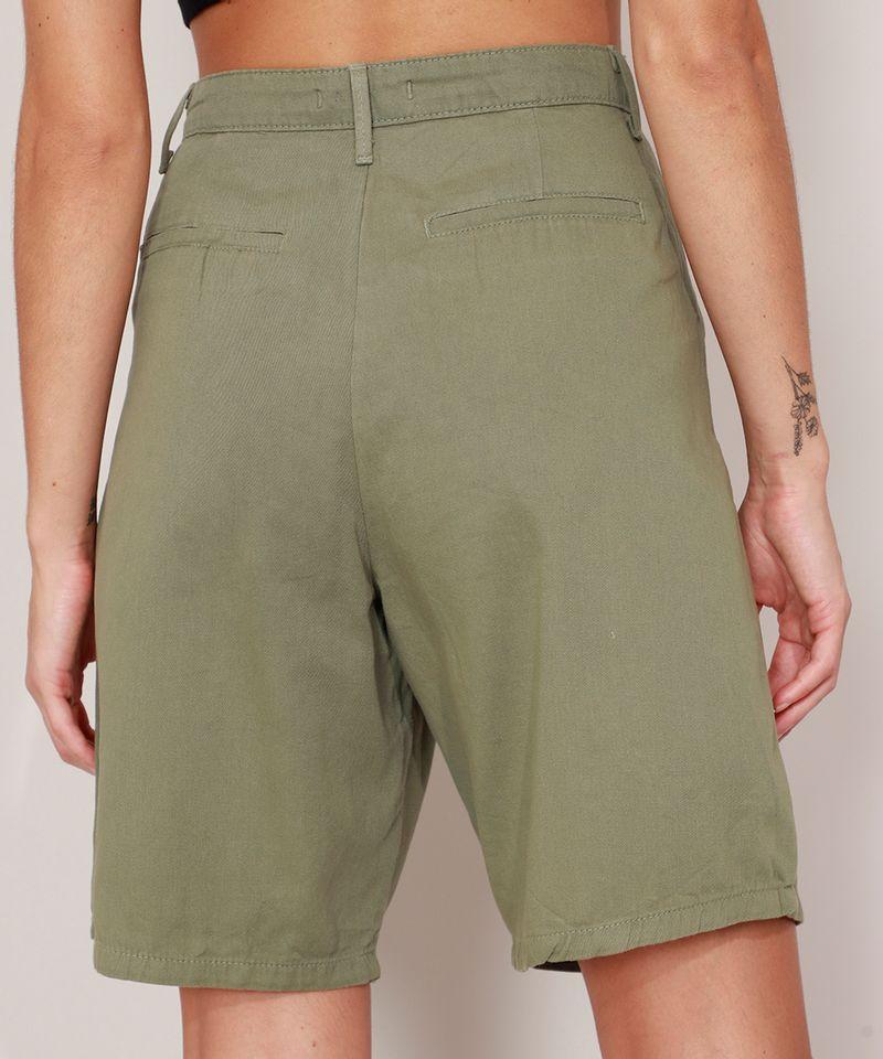 Bermuda-de-Sarja-Alfaiataria-Cintura-Super-Alta-Mindset-Verde-Militar-9990999-Verde_Militar_2
