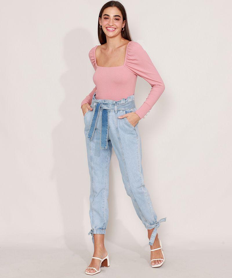 Calca-Clochard-Jogger-Jeans-com-Recortes-e-Faixa-para-Amarrar-Cintura-Super-Alta-Azul-Claro-9985904-Azul_Claro_3